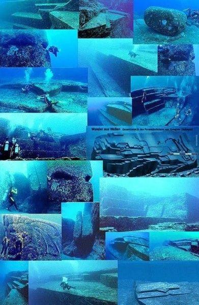 древние подводные пирамиды