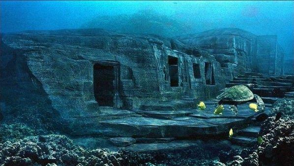 Древние подводные пирамиды у берегов Японии