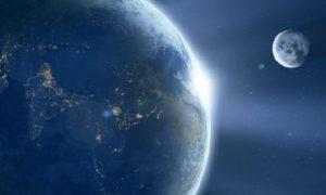 Земля, Луна,