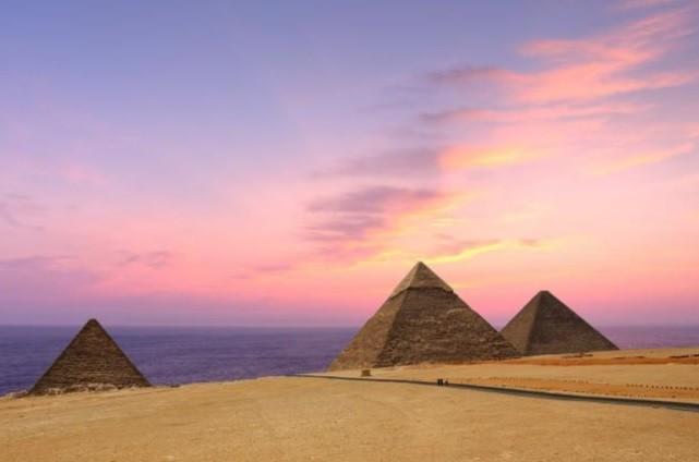 пирамиды, Египет,