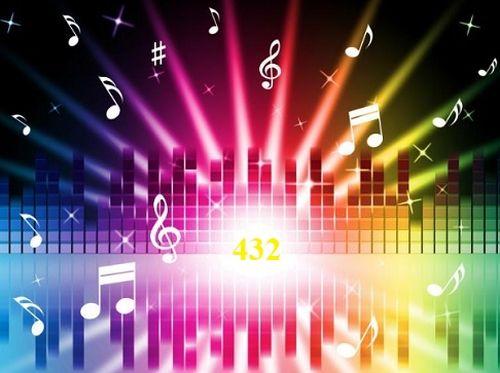 432 Гц, музыка, тон
