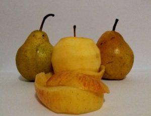 кожура овощей и фруктов