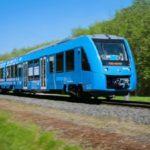 Первый в мире водородный поезд отправился в путь