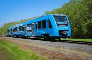 водородный поезд