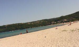 пляж, ветер,