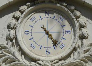 северный магнитный полюс, компас
