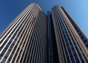 высокие этажи, небоскреб,