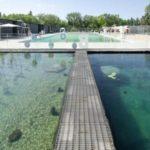 Открыт первый в мире природный плавательный бассейн