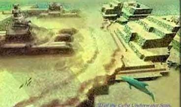 Легендарная Атлантида возможно уже обнаружена японцами