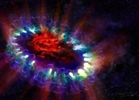 взрыв звезды, космос, тайны науки