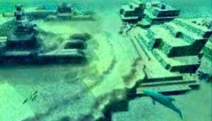 подводный город, Атлантида,