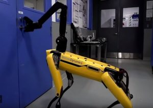 робот-собака, необычный робот,