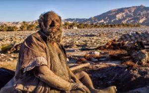 грязный человек