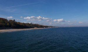 море, Бургас, НЛО над морем,