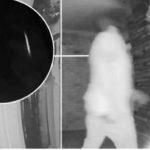 Видеодомофон снял загадочное исчезновение человека