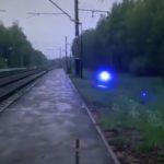 Синяя шаровая молния попала на видео и стала звездой Интернета
