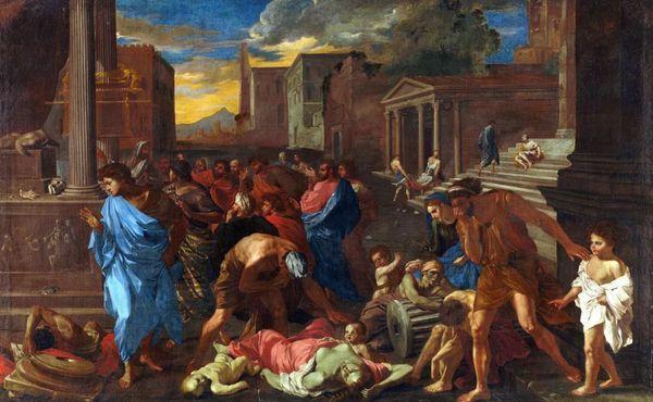 эпидемия чумы, чума, Древний Рим,