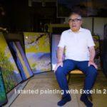 Современный Микеланджело из Японии использует для творчества обычный Excel
