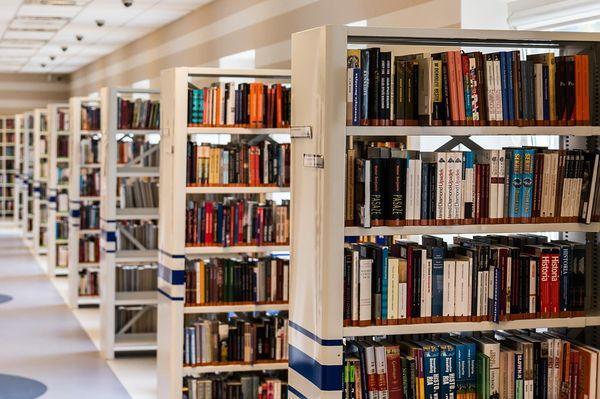 университет, библиотека,